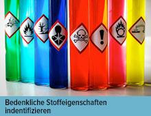 Gefahren durch Desinfektionsmittel bewerten und vermeiden (Ausschlusskriterien)